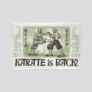 Karate's Back Rectangle Magnet