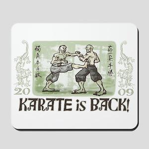 Karate's Back Mousepad