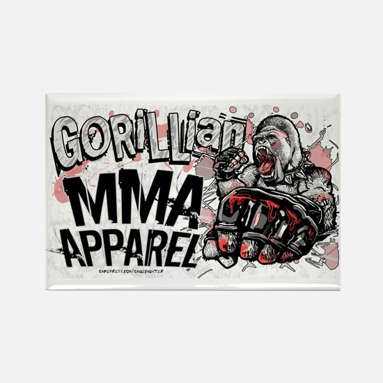 Gorillian MMA Rectangle Magnet
