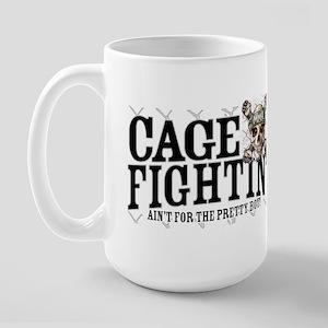 MMA No Pretty Boy Large Mug