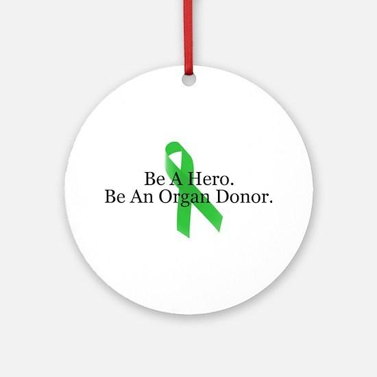 Bold Organ Donor Ornament (Round)
