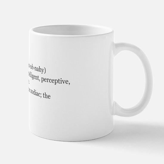 Gemini Definition Mug
