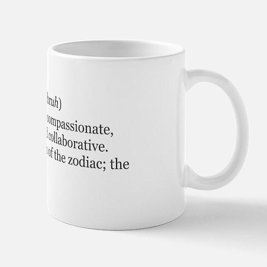 Libra Definition Mug