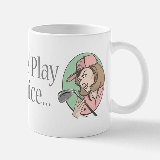 Fore Play Golfer chick Mug