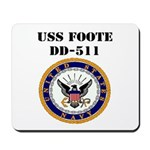 USS FOOTE Mousepad