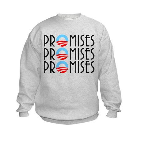 Promises, Promises Kids Sweatshirt