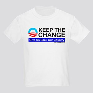 Keep The Change Kids Light T-Shirt