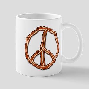 Bacon Peace Sign Mug