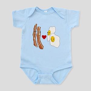 Bacon Loves Eggs Infant Bodysuit