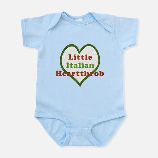 Little Italian Heartthrob Infant Bodysuit