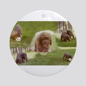 Poodle Town Ornament (Round)