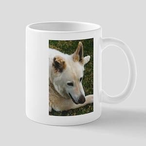 Big White GSD Mug