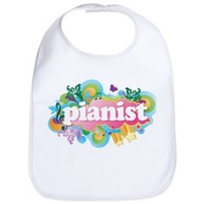 Retro Burst Piano Bib