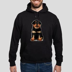 Rottweiler Puppy Hoodie (dark)