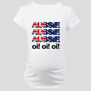 Aussie Aussie Aussie Oi! Oi! Maternity T-Shirt