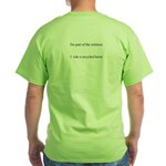 """""""Recycled Horse"""" Green T-Shirt"""