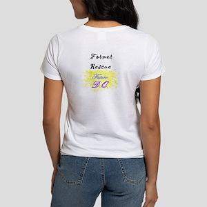 """""""former rescue -future D.Q."""" Women's T-S"""