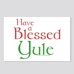 Blessed Yule Postcards (Package of 8)