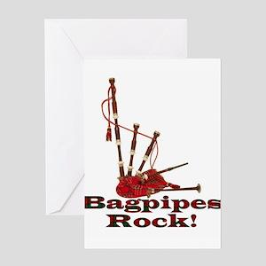 Bagpipez Greeting Card