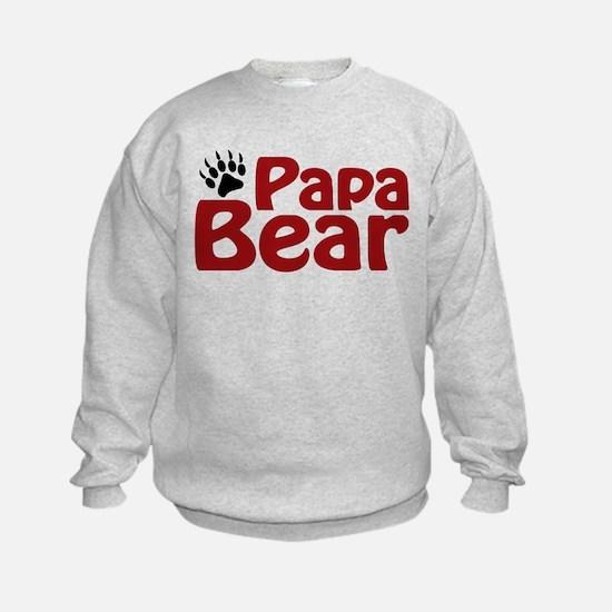 Papa Bear Claw Sweatshirt