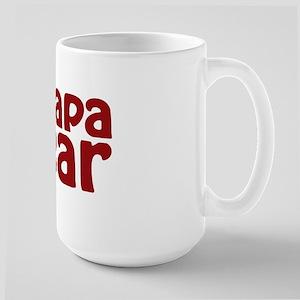 Papa Bear Claw Large Mug
