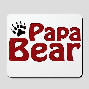 Papa Bear Claw Mousepad