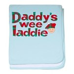 Daddy's Wee Laddie baby blanket