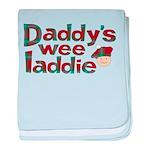 Daddy's Wee Laddie baby blanket