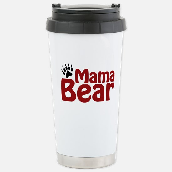 Mama Bear Claw Stainless Steel Travel Mug