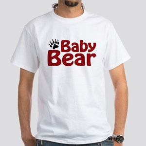 Baby Bear Claw White T-Shirt