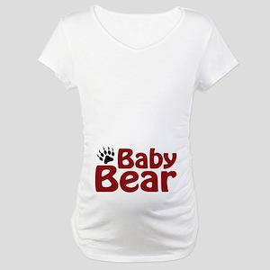 Baby Bear Claw Maternity T-Shirt