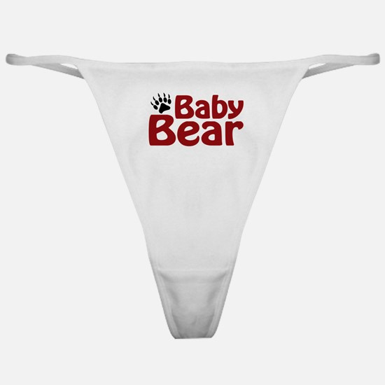 Baby Bear Claw Classic Thong