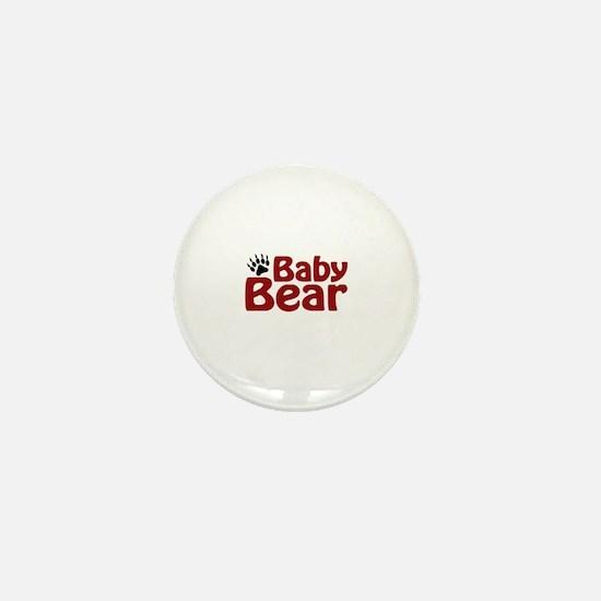 Baby Bear Claw Mini Button