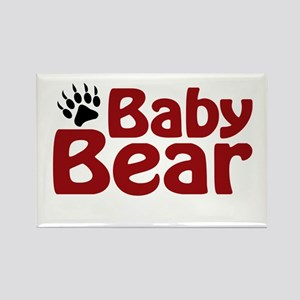 Baby Bear Claw Rectangle Magnet