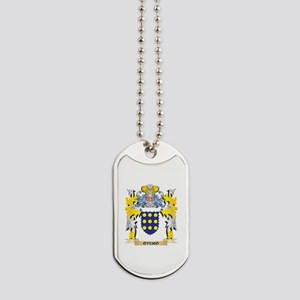 Otero Family Crest - Coat of Arms Dog Tags
