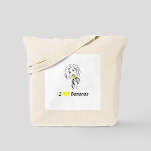 """I Love Bananas"" Tote Bag"