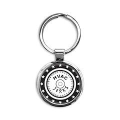 The HVAC Jerks logo Keychains