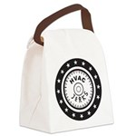 The HVAC Jerks logo Canvas Lunch Bag