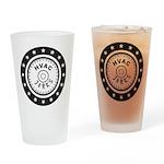 The HVAC Jerks logo Drinking Glass