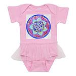 Blue Mandala Baby Tutu Bodysuit