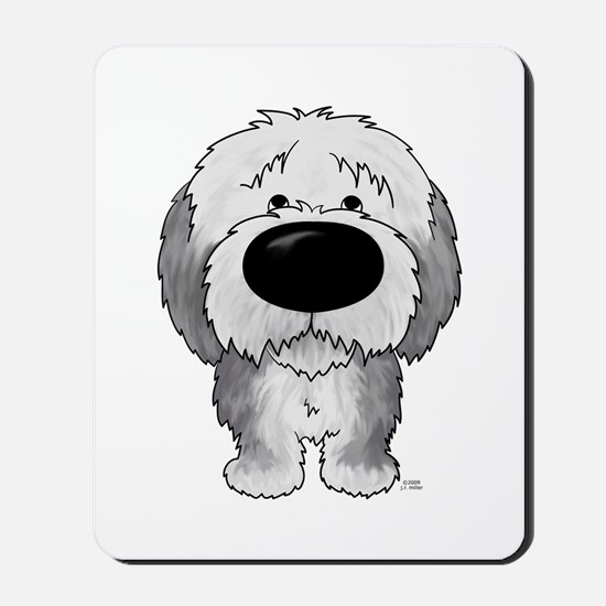 Big Nose Sheepdog Mousepad