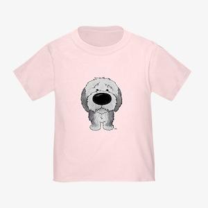 Big Nose Sheepdog Toddler T-Shirt