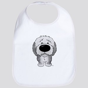 Big Nose Sheepdog Bib