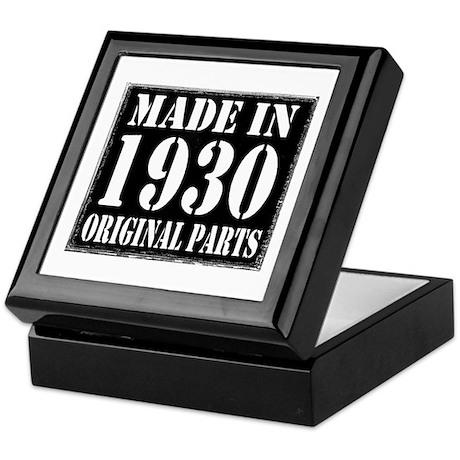 1930 Keepsake Box