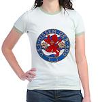 USS HISSEM Jr. Ringer T-Shirt