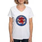 USS HISSEM Women's V-Neck T-Shirt