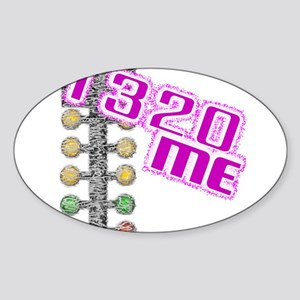 Drag Me PINK Ladies Sticker