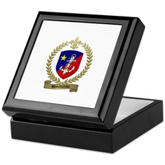 BOUDREAU Family Crest Keepsake Box