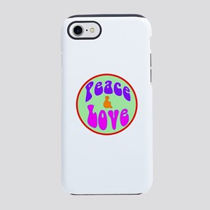 Hippie style iPhone 7 Tough Case