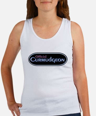Official Curmudgeon Women's Tank Top